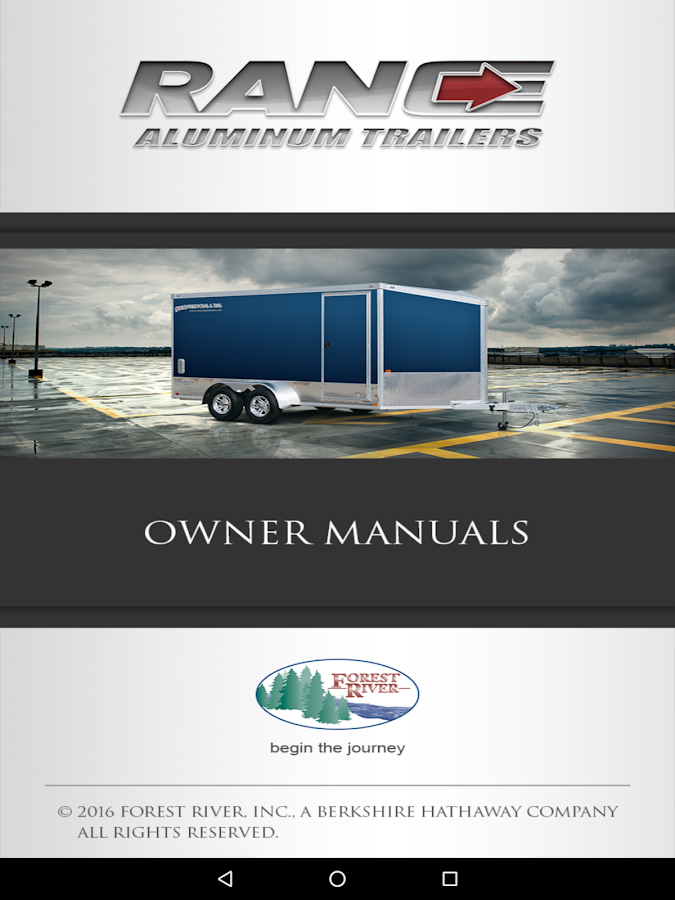 Rance Aluminum Trailer Kit- screenshot