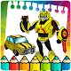 Robot Transform coloring pages (game)