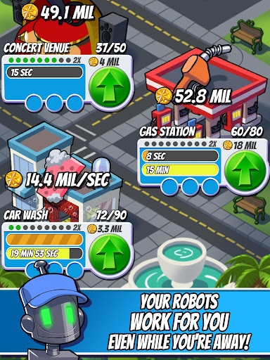 Tap Empire: Idle Tycoon Tapper & Business Sim Game screenshots 18