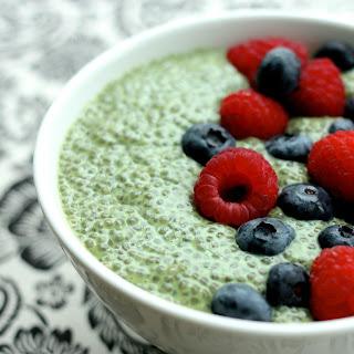 Matcha Green Tea Chia Pudding
