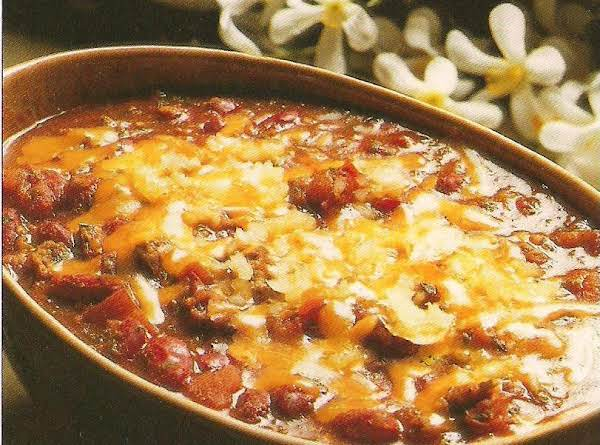 El Zorro's Chili Recipe