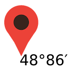 Maps Coordinates Icon