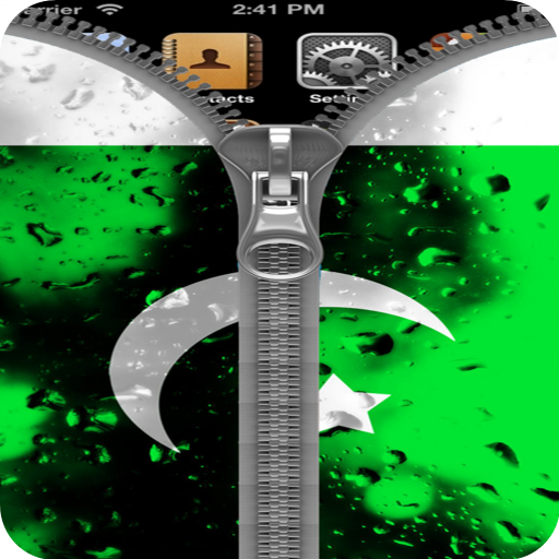 Pakistan Flag ZipperScreenlock