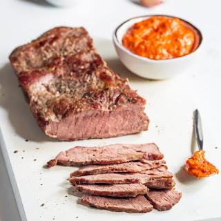 Steak with Romesco Sauce Recipe