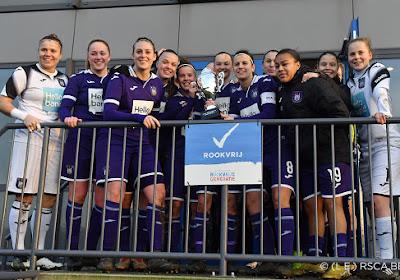 Anderlecht s'offre les championnes des Pays-Bas