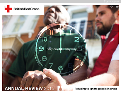 British Red Cross Publications- screenshot thumbnail