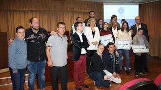 Entrega de premios de los concursos convocados por la UAL.