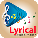 Lyrical Photo Video Maker with Music Video Status icon
