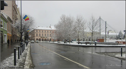 "Photo: Cluj-Napoca - Piata Unirii, "" azi iarna"" - 2018.01.22"