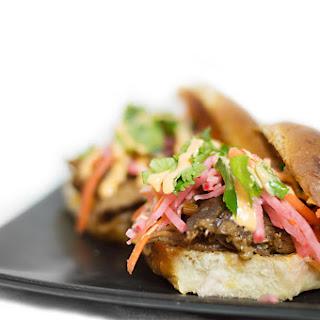Pork Banh Mi Sliders