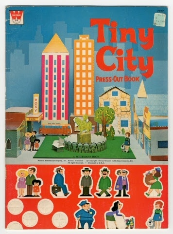 Activity book:Tiny City Press Out Book