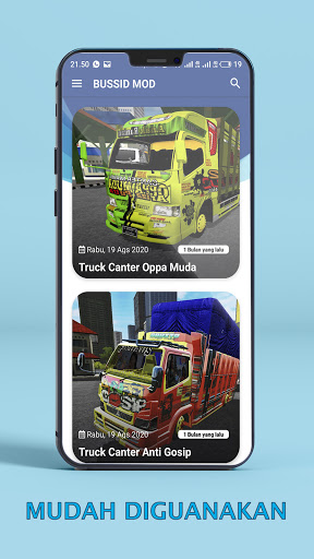 Bus Simulator Indonesia : MOD BUSSID 1.6 screenshots 3