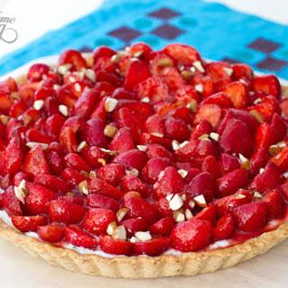 Strawberry and Ricotta Tart