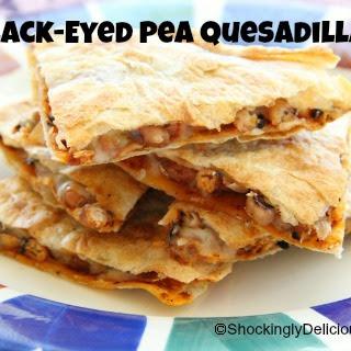Black-Eyed Pea Quesadillas.