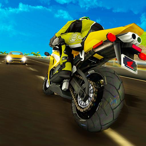 Moto Bike Game Traffic Racer 3D