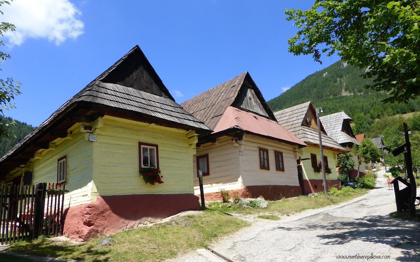 Open air museum Vlkolinec, Liptov, Slovakia