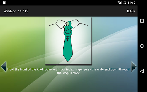 How to Tie a Tie Screenshot 8