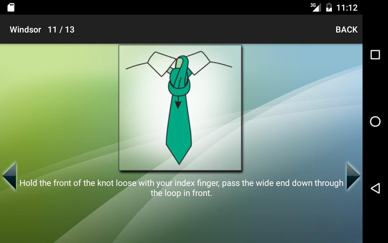 How To Tie A Tie Screenshot