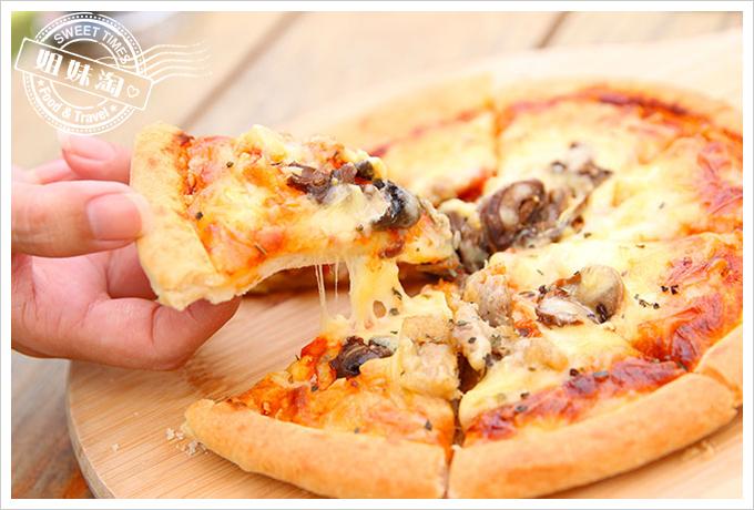 小琉球荷花軒春雞手工披薩