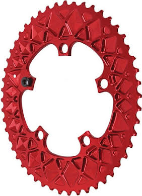 Absolute Black Premium Oval Road Outer Chainring, SRAM Hidden-Bolt 5x110BCD alternate image 0