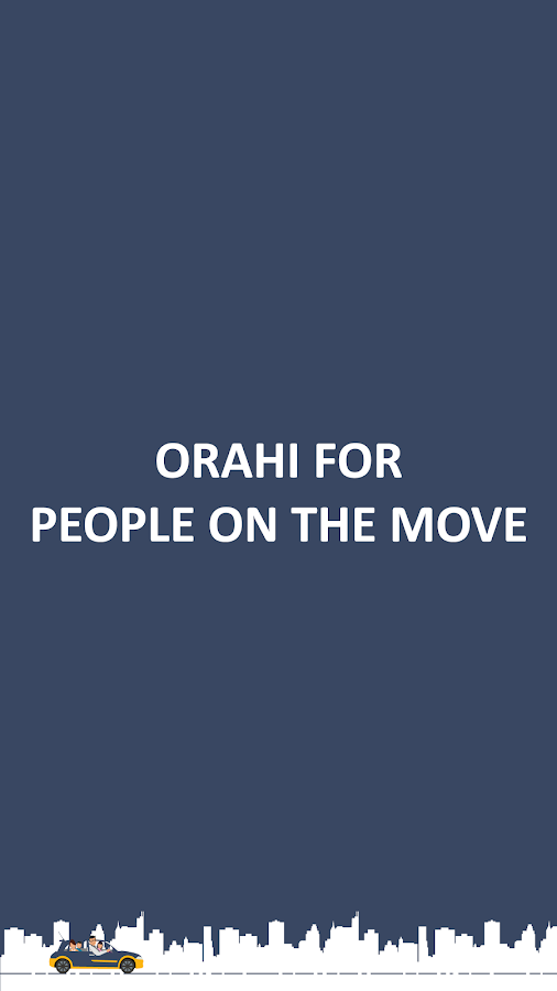 Orahi - for People on the move- screenshot