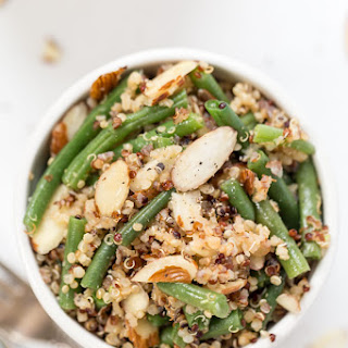 Green Bean & Almond Quinoa Salad.