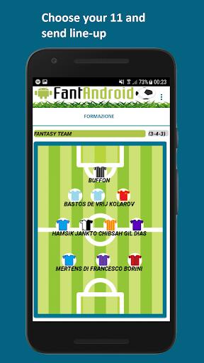 FantAndroid fantasy soccer  screenshots 2