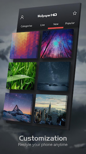 Backgrounds (HD Wallpapers) Android App Screenshot
