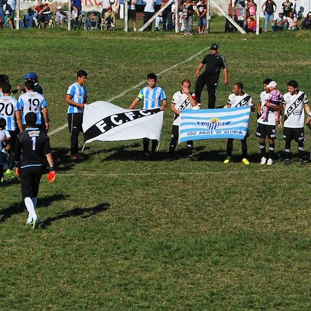 Fernando López arbitra Salto Uruguay - Ferro Carril (7a Fecha Clausura 2016)