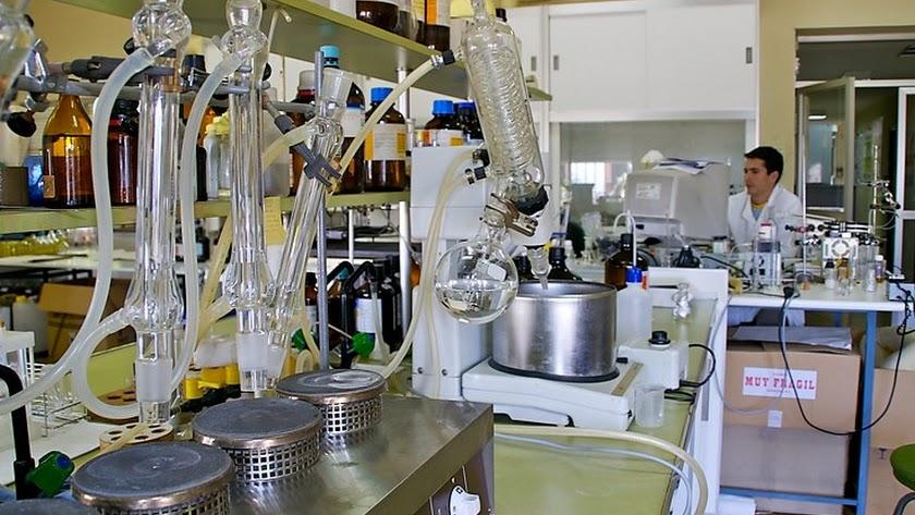 Laboratorio del Ifapa.