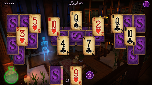 haunted mansion solitaire screenshot 2