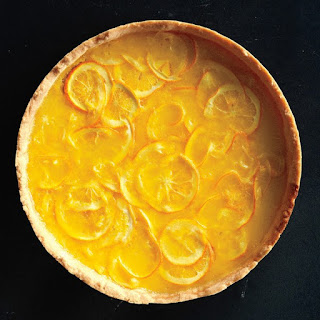 Lemon-Honey Tart with Salted Shortbread Crust