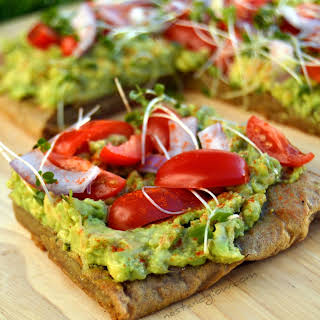 Avocado on Quinoa Bread Toast.