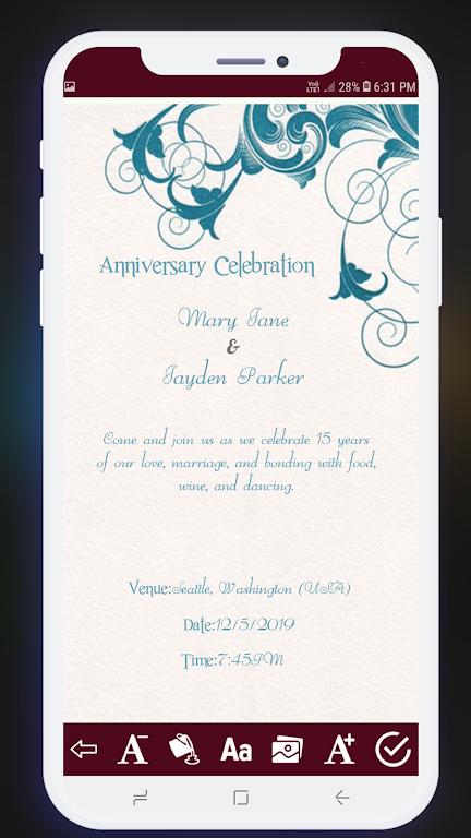 Download Invitation Card Maker Free Greeting Cards Design