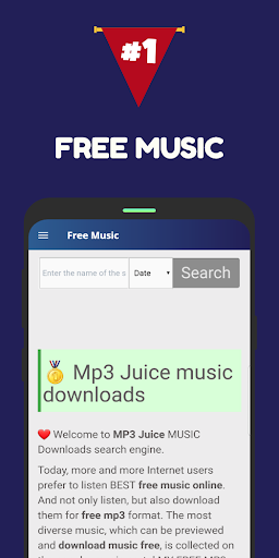 Baixar Free Mp3 Music - Download Mp3 Music Free para Android no