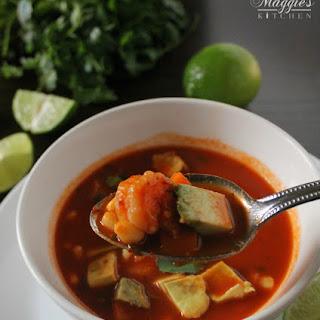 Mexican Spicy Shrimp Soup Recipes.