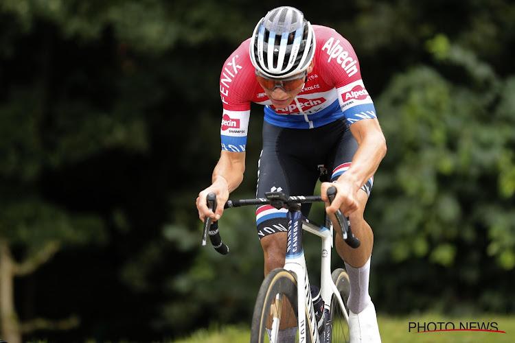 """Van der Poel levert naar eigen zeggen één van zijn sterkste nummers: """"Qua afzien plaats ik dit boven Amstel en Ronde"""""""