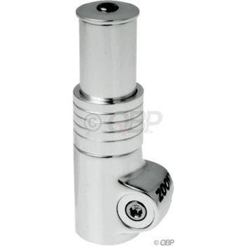 """Zoom HeadsUp2 1-1/8"""" 75mm Extension Silver"""