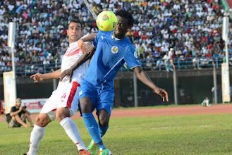 Photo: Kei Kamara - vs Tunisia, June 2013 [Photo © Darren McKinstry]