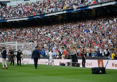 Les supporters du Real Madrid ont réclamé le nom d'un autre joueur avant la présentation d'Eden Hazard ! (Vidéo)
