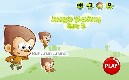 Jungle Monkey Run 2