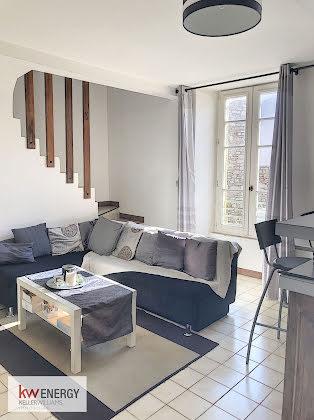 Vente duplex 2 pièces 41,87 m2
