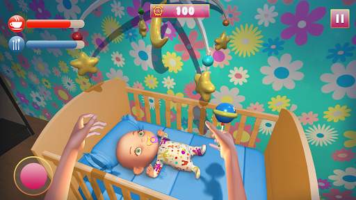 Télécharger 3D Mother Simulator Game 2019: Virtual Baby Sim apk mod screenshots 2