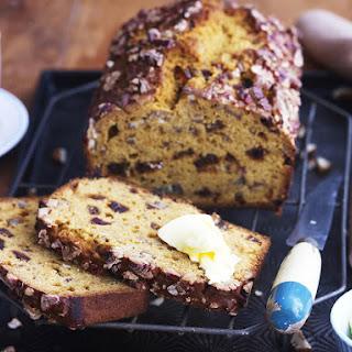 Pumpkin, Date and Pecan Bread