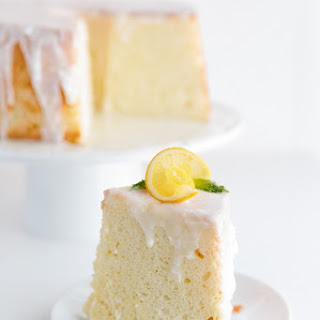Meyer Lemon-Olive Oil Chiffon Cake