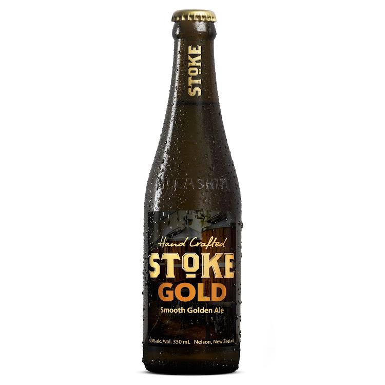Logo of McCashin's Brewery Stoke Gold