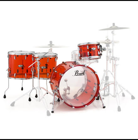 Pearl Crystal Beat - CRB524FP - Ruby Red