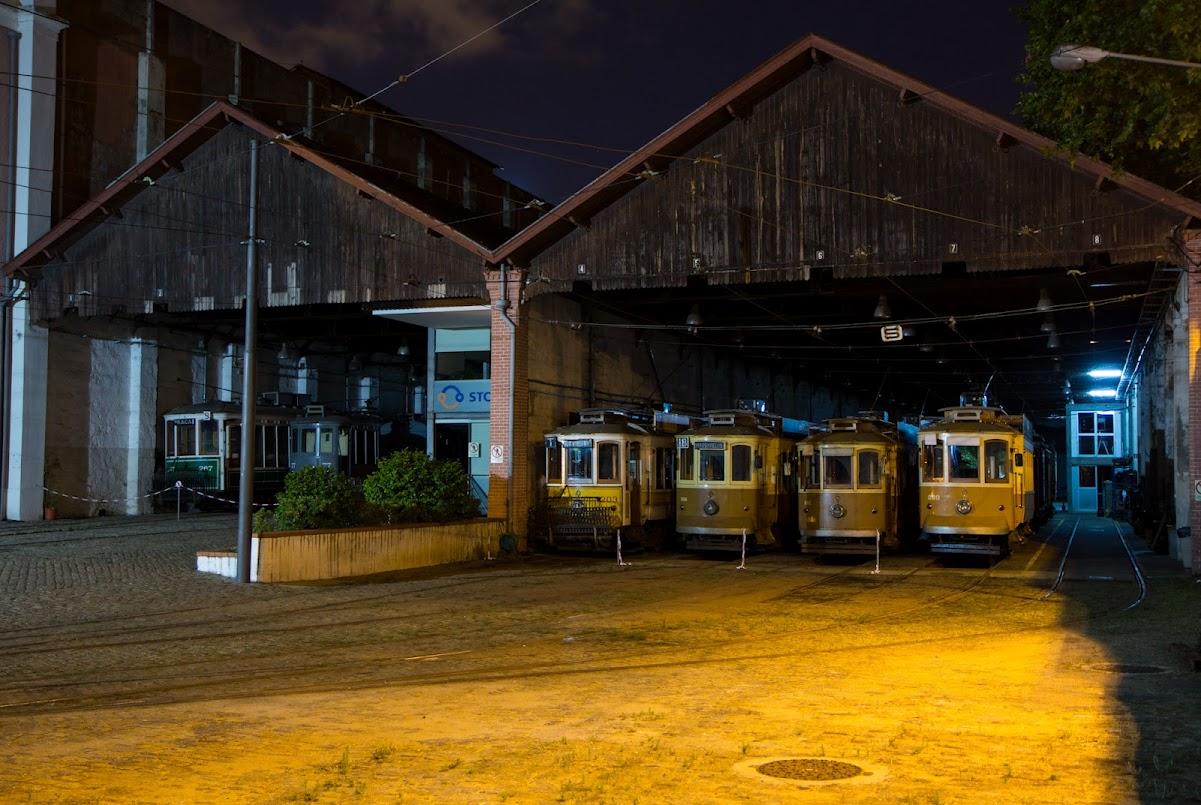 Porto tram yard