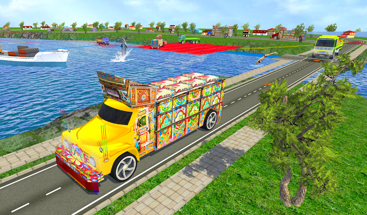 Impossible Cargo Truck Driver- screenshot