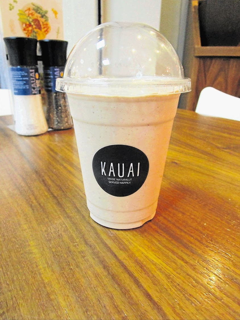 A Kauai peanut butter smoothie. Picture: THE HERALD